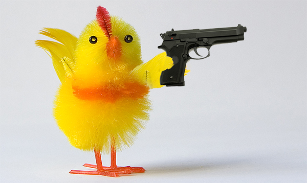 kycklingmedpistol